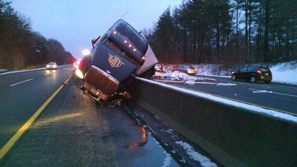 Commercial Motor Vehicle Crash on the New Jersey Turnpike