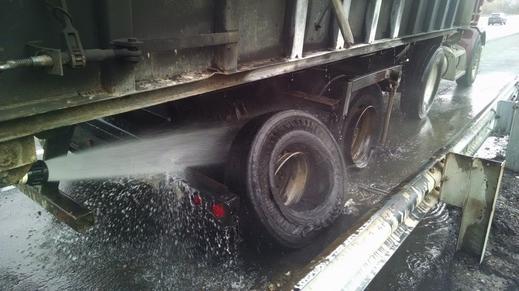 Commercial Vehicle Fire on the New Jersey Turnpike