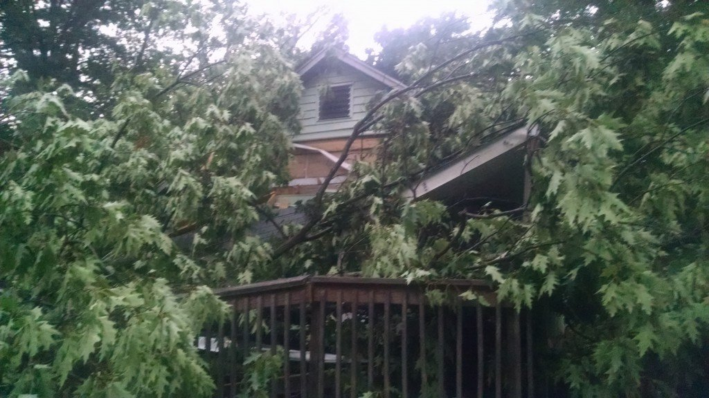 Severe Storm Pounds Region with High Winds and Rain