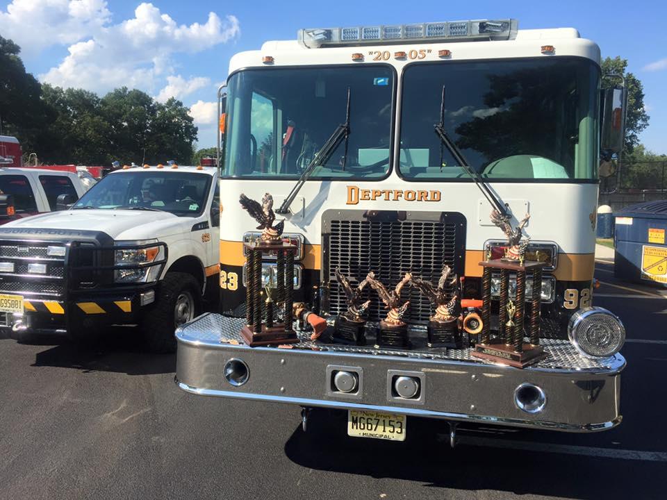 Tacoma Fire Co Takes Five Awards at Lanoka Harbor Fire Company Parade