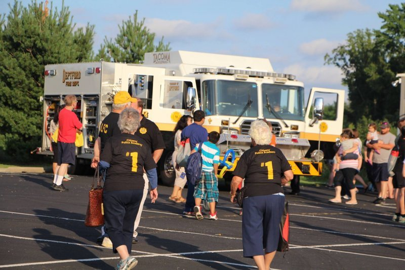 Tacoma Fire Company Participates in Deptford National Night Out