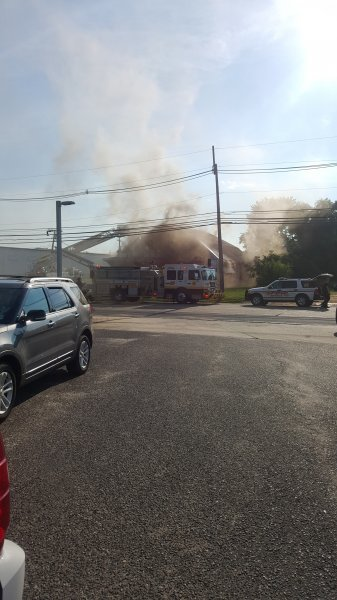 2 Alarm Building Fire On Hurffville Road In Battalion Three