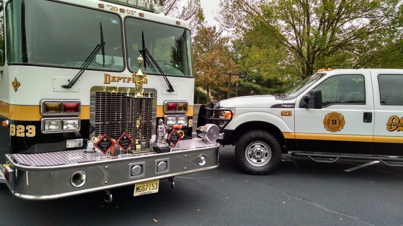 Tacoma Boulevard Station Wins Best Appearing Apparatus Overall at Pennington Fire Co Parade