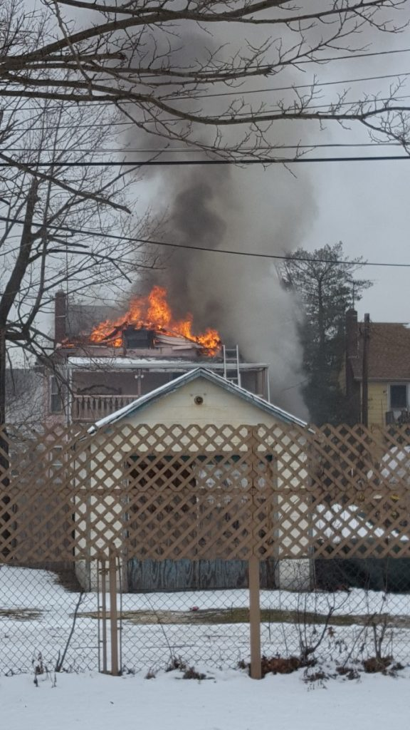 Engine 92 Responds On Multiple Alarm Dwelling In Paulsboro