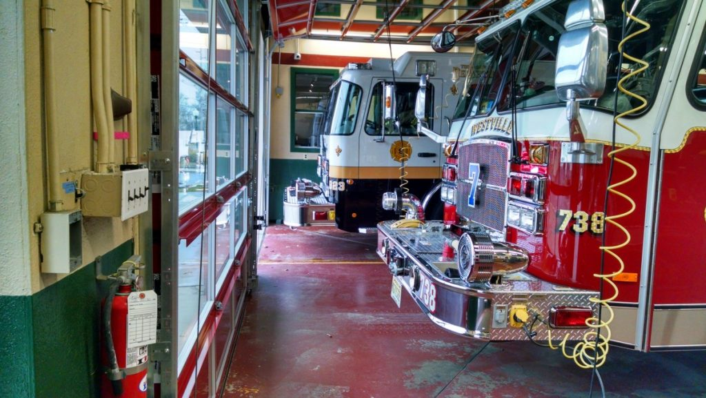 Engine 923 Covers Westville FD