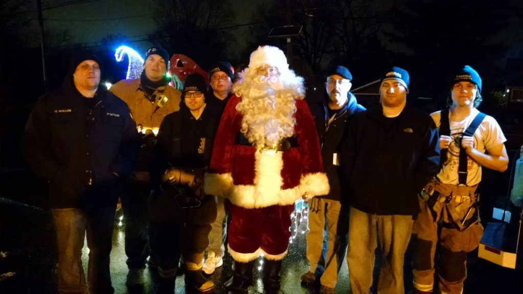 Santa Claus Visited Battalion 2 Local