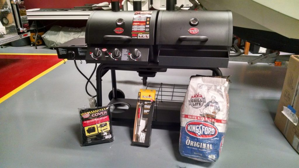Drawing June 1st!   Enter To Win a BBQ Grill/Smoker Combination From Tacoma Fire Co.