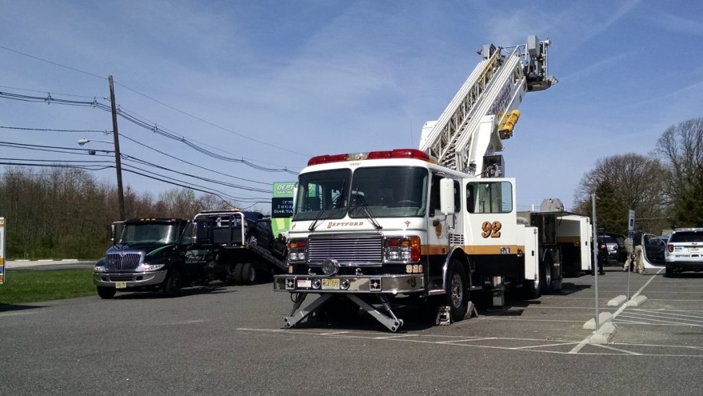 Tower 926 Participates In A Touch A Truck Event At DSC