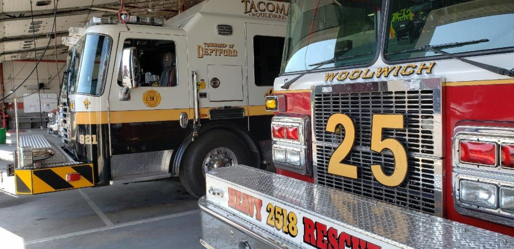 Squad 921 Covers Station 251 As Part Of Task Force