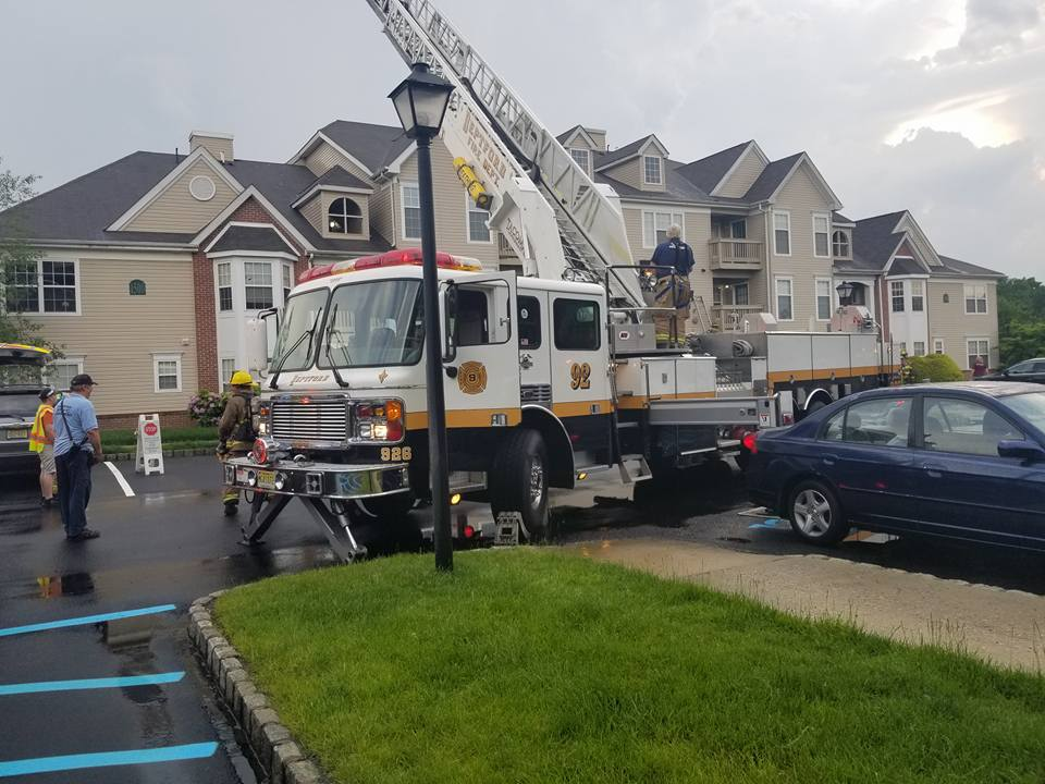 Lightning Strike Causes Building Fire In Battalion Three Local