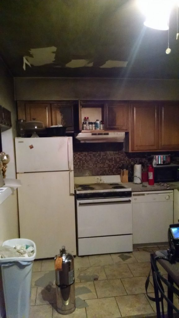 Kitchen Fire At Chestnut Lane Apartments