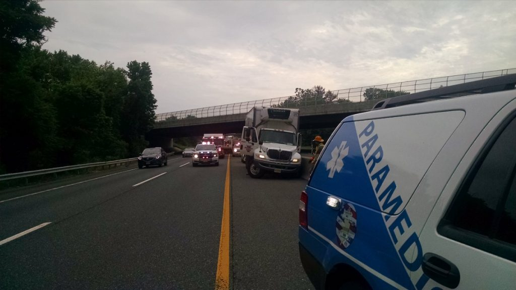 Commercial Motor Vehicle Crash On New Jersey Turnpike