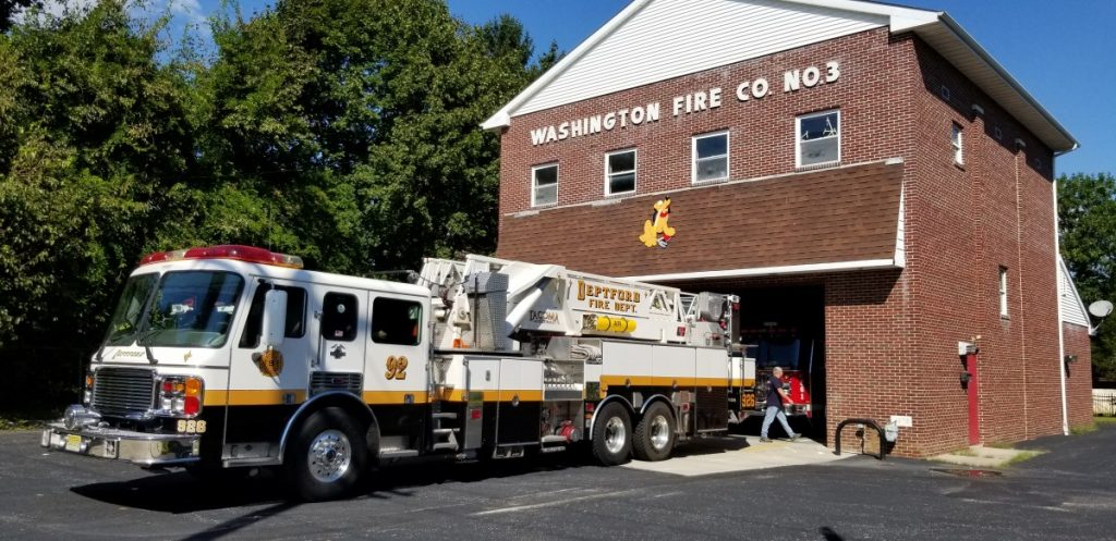 Tower 926 Provides Cover for Washington Fire Co In Salem