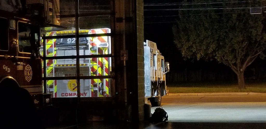 Squad 921 Provides A Cover For Glassboro Fire Department