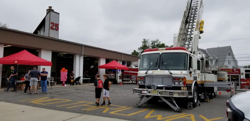 Tower 926 Participates In Woolwich Fire Co Open House